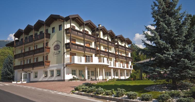 HOTEL  EDERA         (BASELGA DI PINE')  (TN)