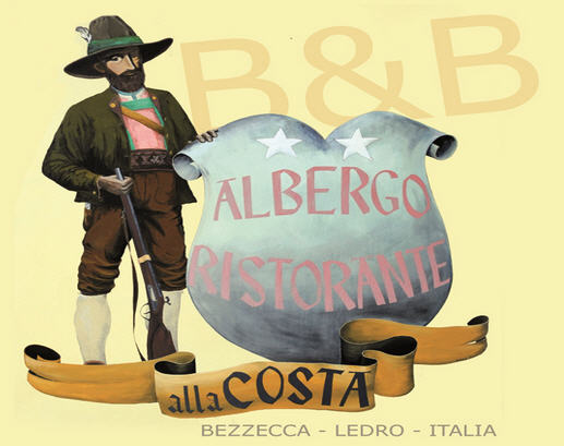 ALBERGO  ALLA  COSTA          (BEZZECCA - LEDRO)   (TN)