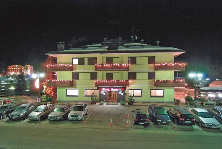 HOTEL  CRISTALLO        (MADONNA DI CAMPIGLIO) (TN)