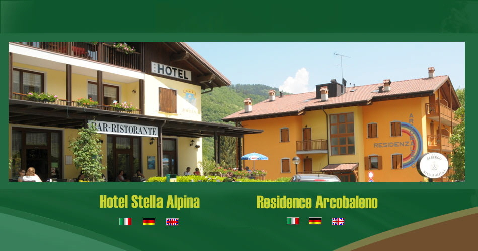 HOTEL STELLA ALPINA    (LAGO DI TENNO)   (TN)