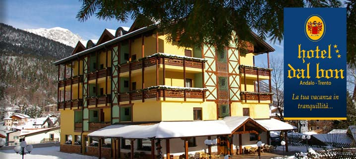 HOTEL  DAL BON     (ANDALO)   (TN)