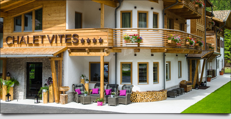 CHALET  VITES  MOUNTAIN HOTEL   (ALBA DI CANAZEI) (TN)