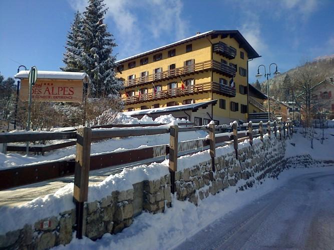 HOTEL DES ALPES                      (SERRADA - FOLGARIA)  (TN)